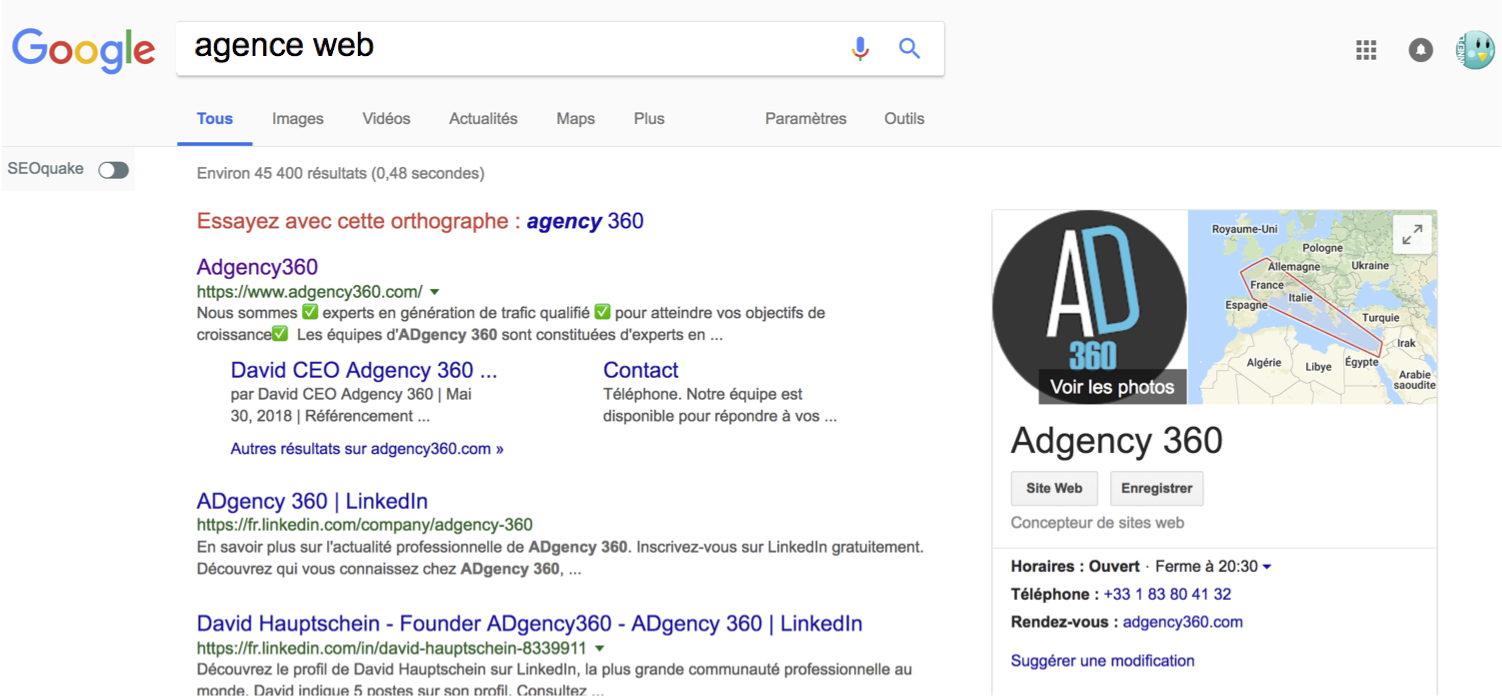 Agence Web Design Israël