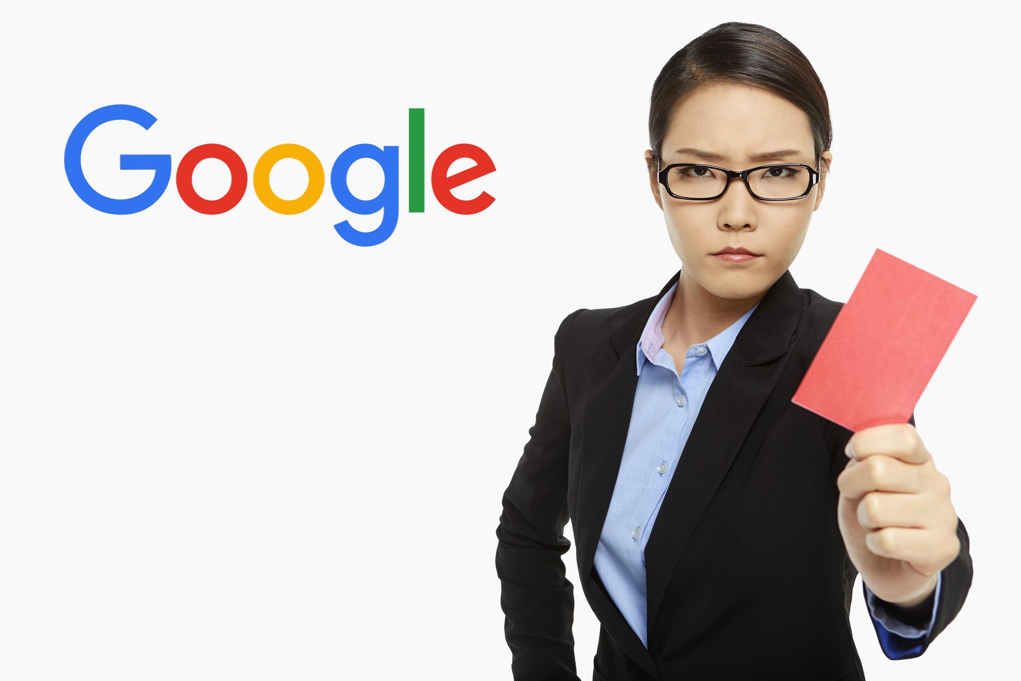 sortir un article de blog d une penalite google