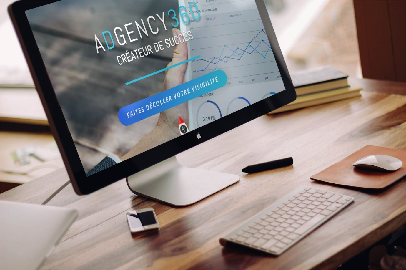 Agence Web Marketing Adgency 360