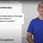 John Mueller - explication sur le calcul de la positionne moyenne sur la search console