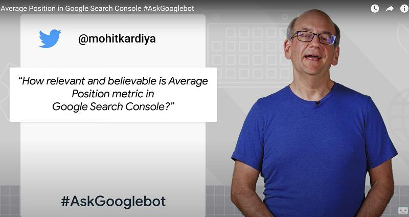 Google Search Console : Quelle est la précision de l'indicateur de la 'position moyenne' ?