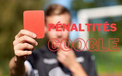 Pénalités : Google ajoute 12 types de sanctions manuelles